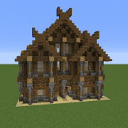 Search town hall Blueprints for MineCraft Houses Castles Towers and more GrabCraft