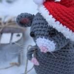 Haakpatroon Kerstmuis