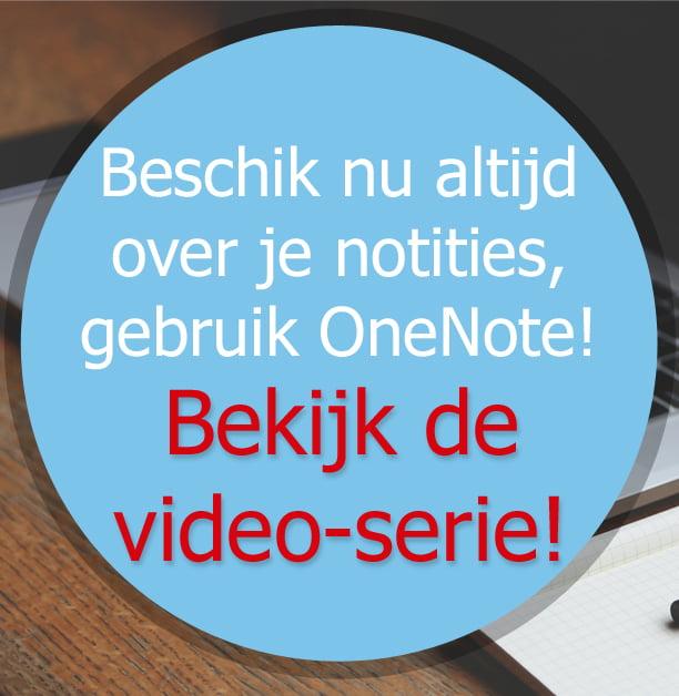 Videoserie OneNote