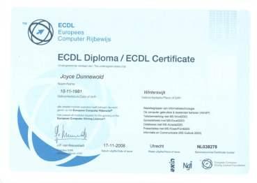 Europees Computer Rijbewijs