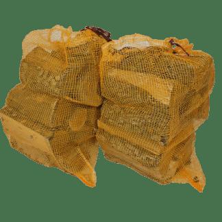 Essenhout in zak van 40 liter - haardhouttoppers.nl