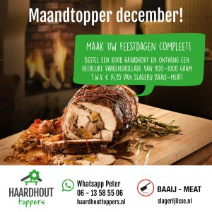 Maandtopper december 2019 - Hrdhouttoppers.nl