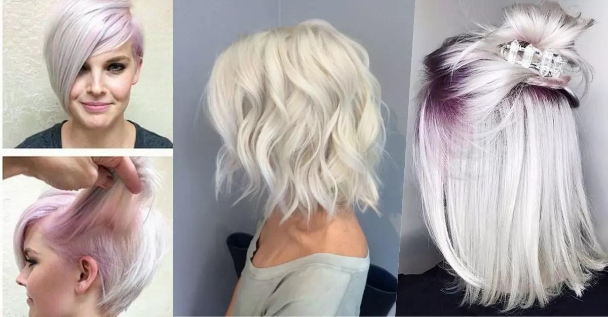 Neue Trend 2018 Haare wei frben