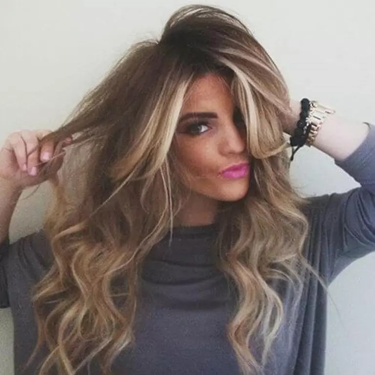 17 Lange Braune Haare Mit Blonden Strhnen