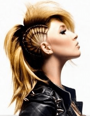 Punk Frisuren Für Mädchen Mit Langen Haaren Haar Frisuren Spiele