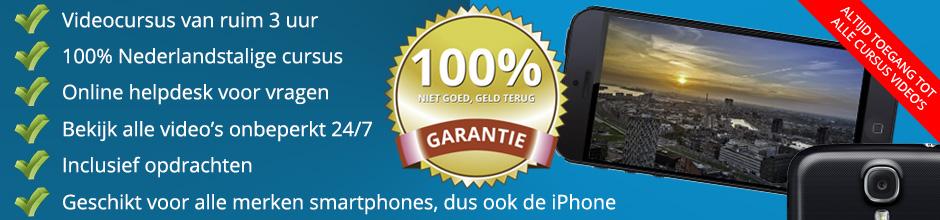 Smartphone Fotografie Cursus (NL)
