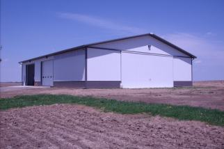 Ag Storage Post Frame Building
