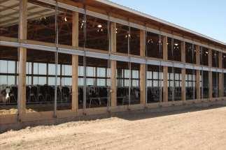 Dairy Barn in Northern Illinois