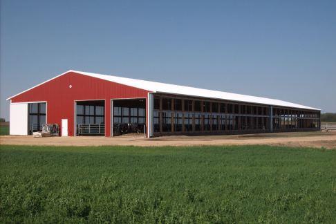 Dairy Barn post frame building