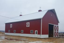 Post Frame Barn
