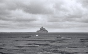 Mont Saint-Michel - From a distance)