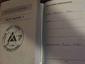 """Old PTK """"Blue Book"""""""