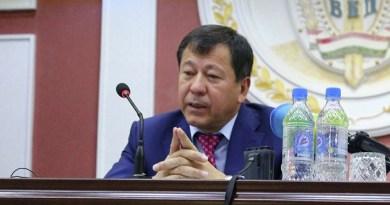 Отчет министра внутренних дел Таджикистана за 2016 год