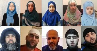 Таджики принимают участие в массовом флешмобе против запрета хиджаба