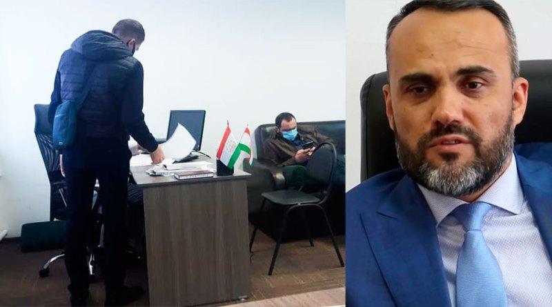Москва: в офисе Иззата Амона прошел обыск