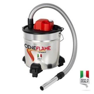 Aspiracenere elettrico a bidone 18 litri ACSC181200