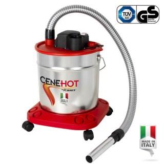 Aspiratore elettrico per ceneri calde e fredde 18lt ACC18950