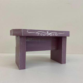 Sgabello mini Purple