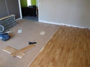 rinnovare casa mettendo un pavimento nuovo sul vecchio