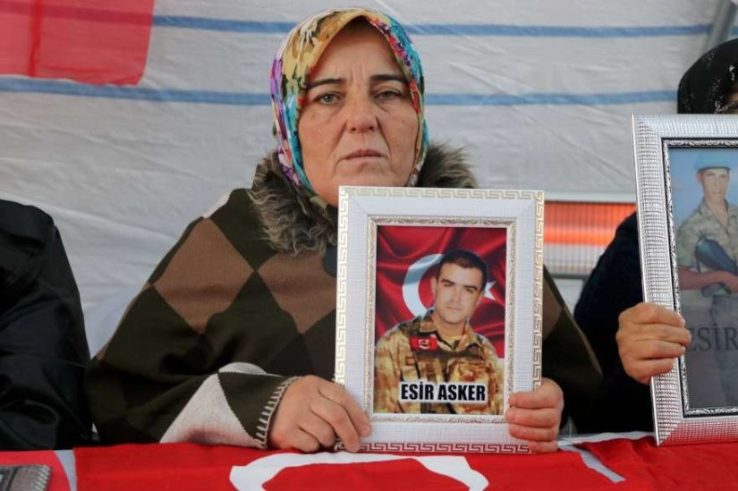 HDP önündeki eylemde 82'nci gün
