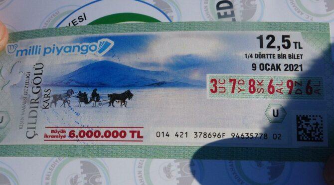 Milli Piyango bileti iki kenti birbirine düşürdü