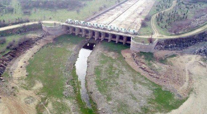 Edirne'nin 5-6 aylık suyu kaldı