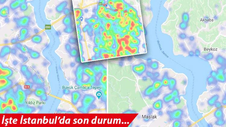 İstanbul'da koronavirüs haritası yeşile dönüyor ancak çok önemli bir uyarı geldi!