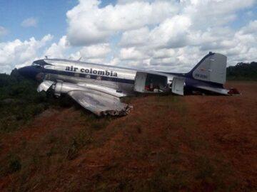 AIR COLOMBIA'NIN İNİŞİNDEKİ KAZA RAPORU ANCAK YAYINLANDI... - Airline Haber