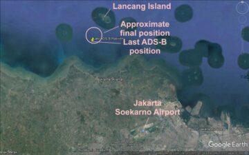 Endonezya'da düşen uçaktan henüz ELT sinyali alınamadı... - Airline Haber