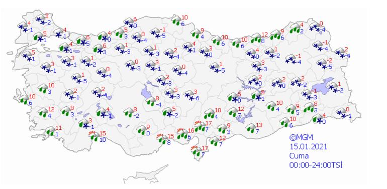 İstanbulda kar ne zaman başlayacak Meteorolojiden son dakika hava durumu uyarısı Sarı alarm verildi