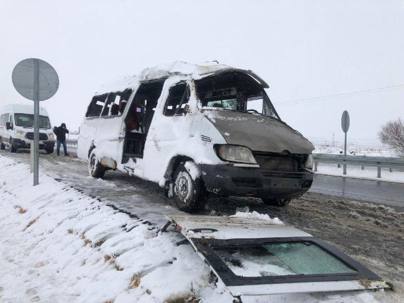 Türkiye soğuk hava ve karın etkisinde
