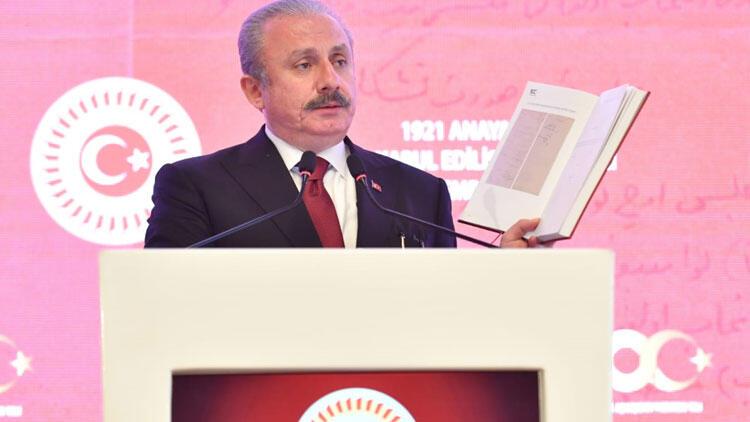 TBMM Başkanı Şentop:Meclis, yeni sistemde güçlendirilmiştir