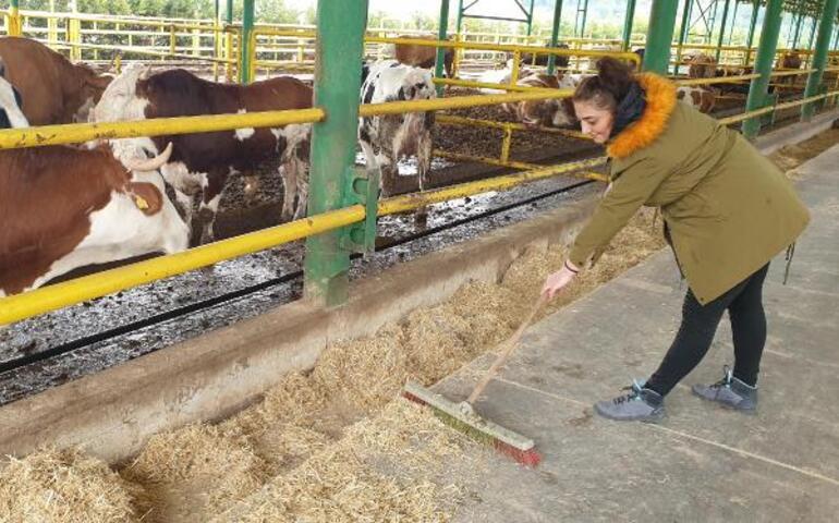 Öğretmenliği bırakıp çiftlik kurdu, şimdi hedefi daha çok istihdam sağlamak