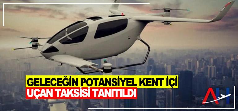 Geleceğin potansiyel uçan taksisi: Y6S Plus