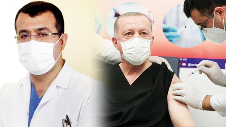 Sosyal medya onu konuştu... İşte Erdoğan'a aşı yapan doktor