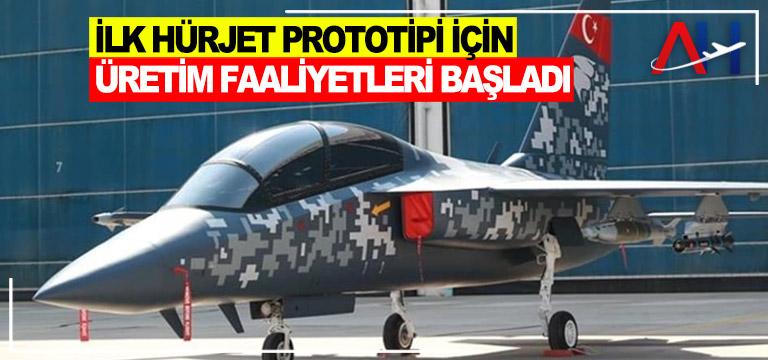TUSAŞ, HÜRJET prototipi için alt sistem sözleşmeleri imzaladı