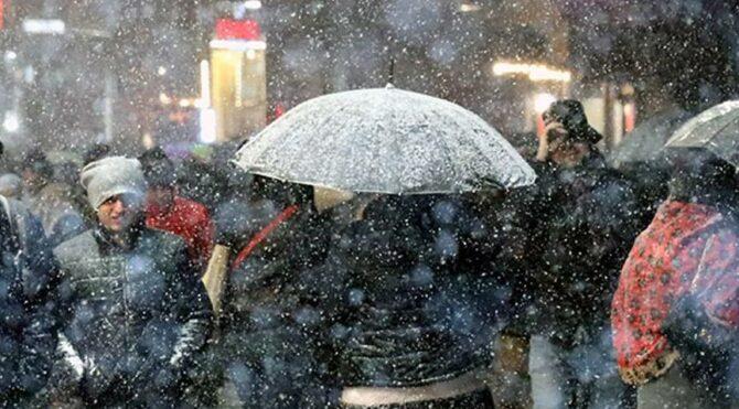 Son dakika… Meteoroloji'den İstanbul için yoğun kar yağışı uyarısı: Bu gece başlıyor