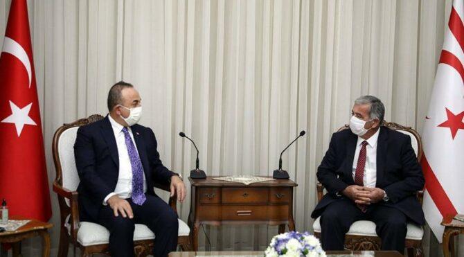 Çavuşoğlu: Türkiye'nin Kıbrıs Türk halkına desteği tamdır