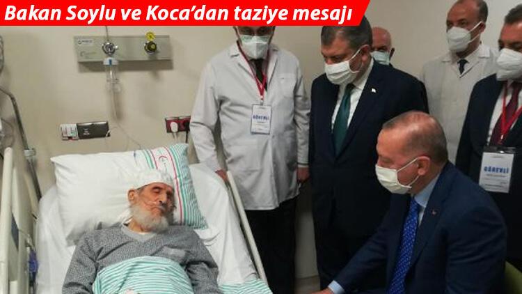 Elazığ'ın kanaat önderlerinden Abdullah Nazırlı hayatını kaybetti! Erdoğan ziyaret etmişti
