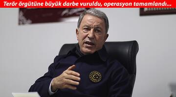 Bakan Akar acı haberi böyle duyurdu: PKKnın kalleş yüzü bir kez daha görüldü