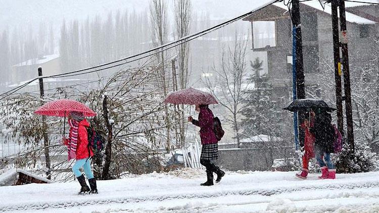 Son dakika… Yüz yüze eğitime kar yağışı engeli! Hangi illerde okullar tatil oldu?