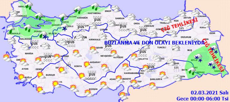 Meteoroloji hava tahminini açıkladı Sıcaklıklar mevsim normallerinin üstünde