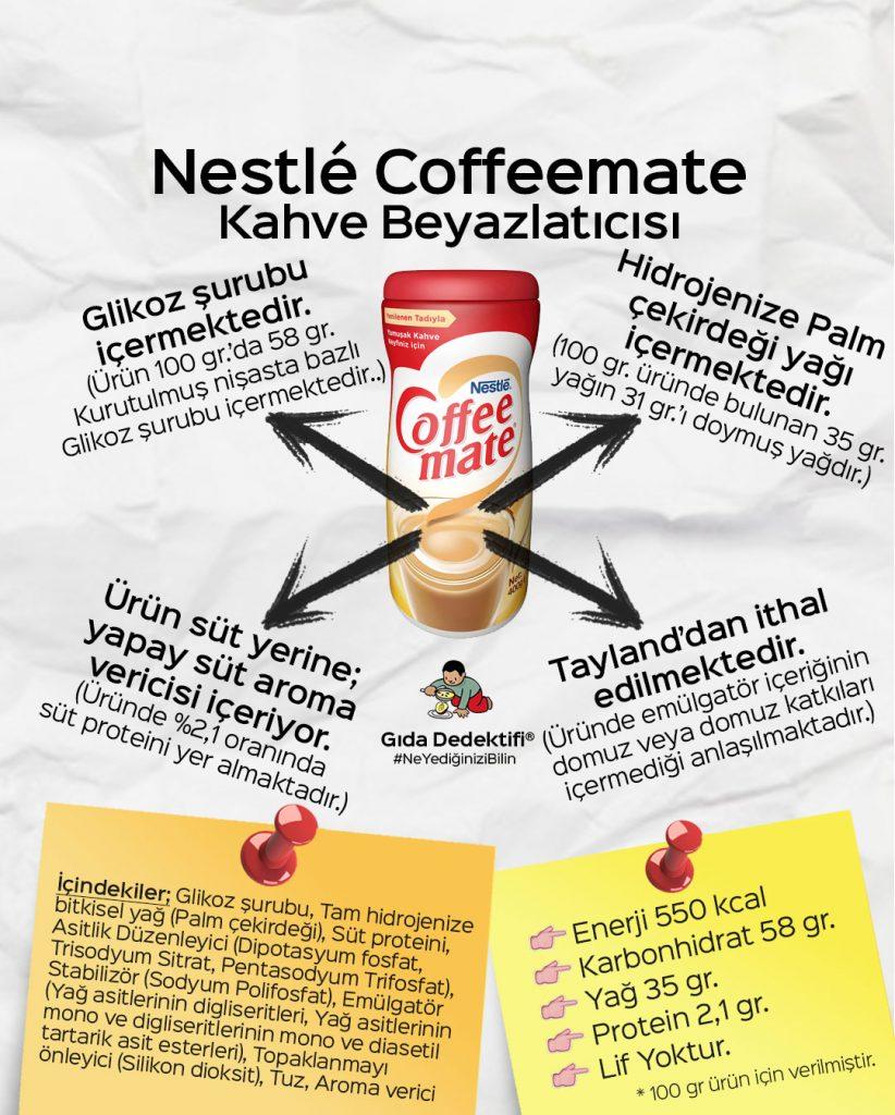 Nestlé Coffeemate - Gıda Dedektifi