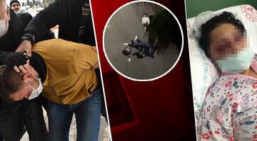 Samsunda eski eşini çocuğunun gözü önünde öldüresiye dövdü İlk ifadesi ortaya çıktı...