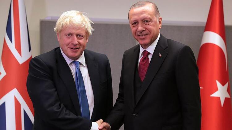 Son dakika... Cumhurbaşkanı Erdoğan'dan Boris Johnson ile kritik görüşme!
