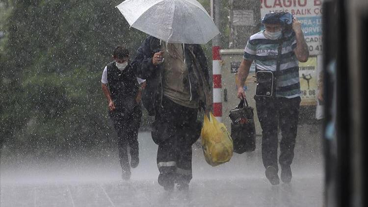 Meteoroloji'den son dakika hava durumu raporu! 6 il için sağanak uyarısı