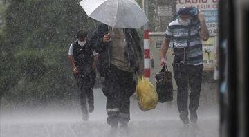 Meteorolojiden son dakika hava durumu raporu 6 il için sağanak uyarısı