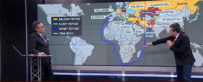 Emniyetin hazırladığı bu harita ne anlama geliyor Canlı yayında anlattı: Şeytan üçgeni diyorlar