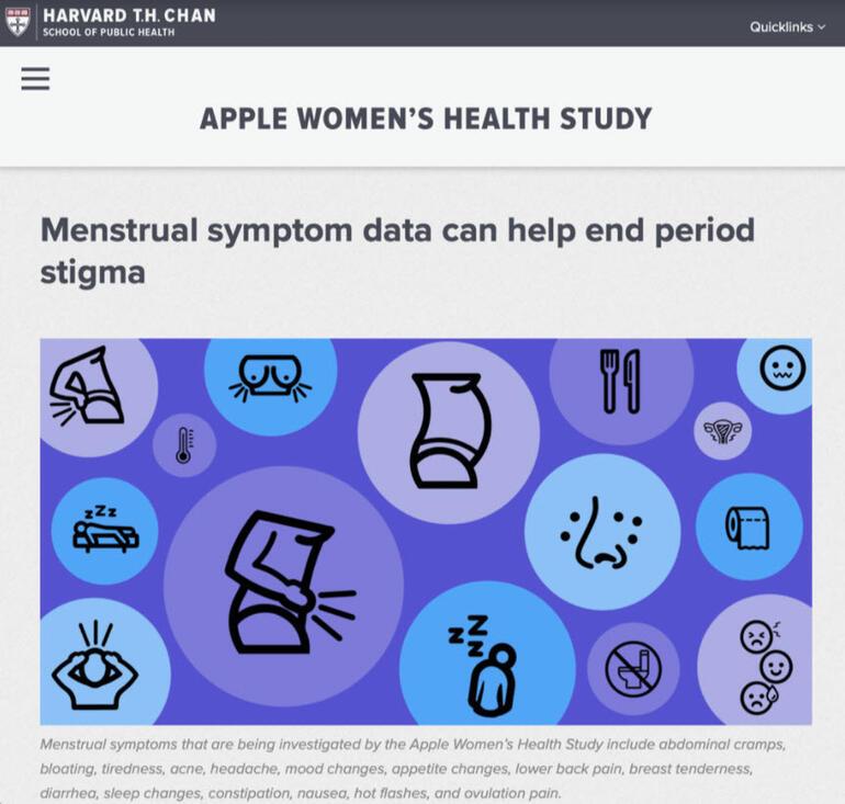 Apple Kadın Sağlığı Araştırması'nın ilk sonuçları yayınlandı