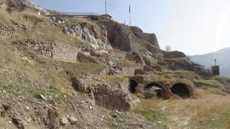 Kont Drakulanın esir tutulduğu tarihi Tokat Kalesine restorasyon